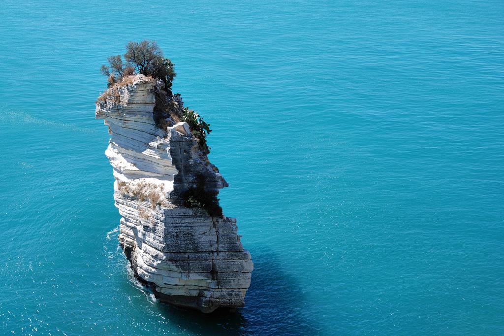 The crystal sea of Gargano, South Italy