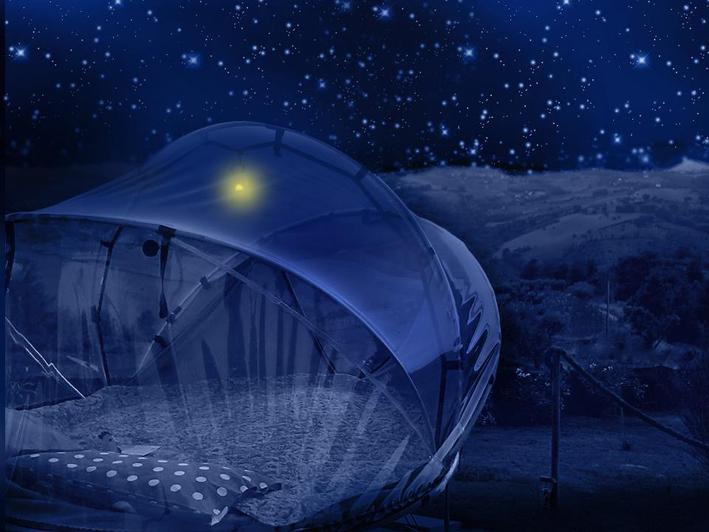 the tent under the stars in the b&b la casa dei nonni (FM)