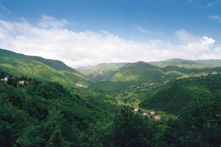 Nature in Val di Taro, Parmesan Apennines