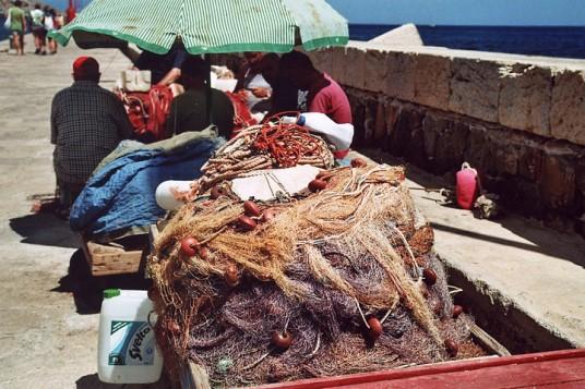 Fishermen of the Egadi Island