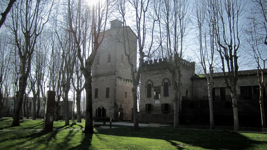 Rocca dei Rossi, San Secondo Parmense, an Italian Virtuous Municipality in Parma province