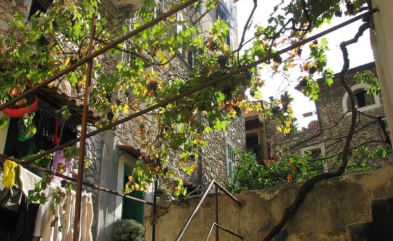 Torri Superiore ecovillage, Liguria, Italy,