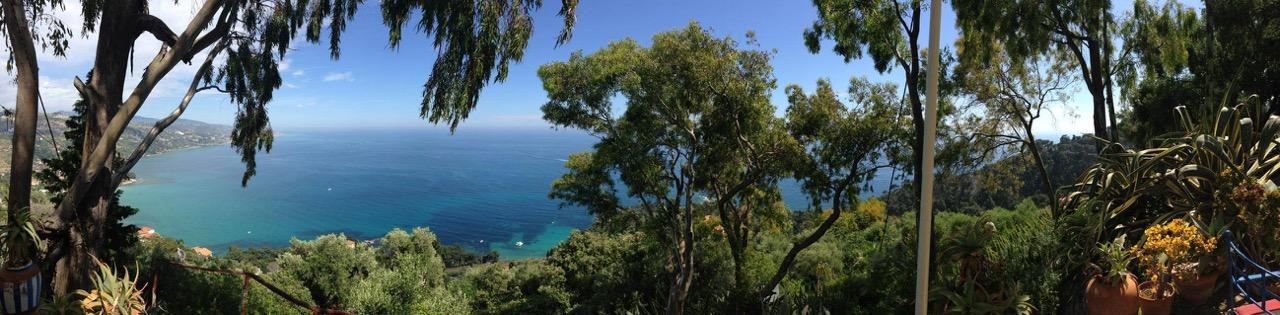 The view from La Mortola