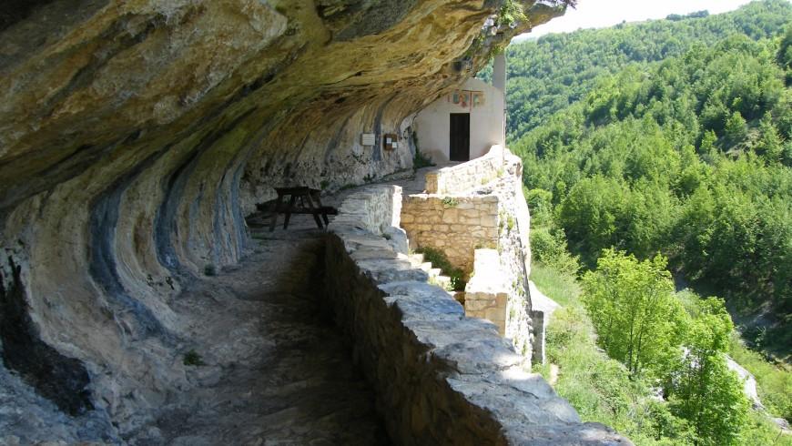 heremit San Bartolomeo, Majella National Park, Abruzzo, Italy