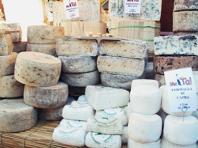 Goat Cheeses in Lazise