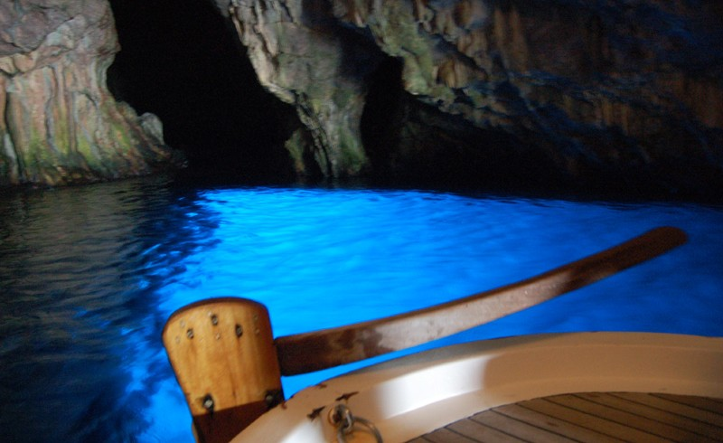 The Azure Grotto on the Cilento Coast