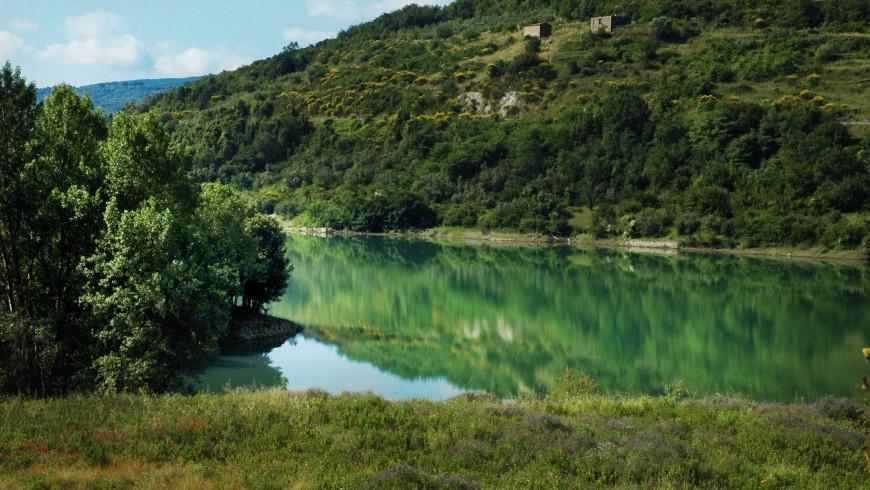 Alento river natural park, Cilento, Italy
