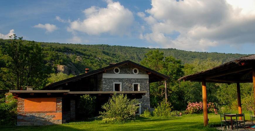 Agriturismo La Campagnetta at Chiaverano, near Turin