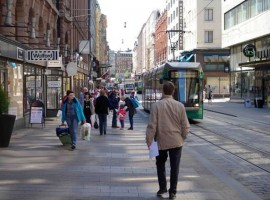 Helsinki, city without cars