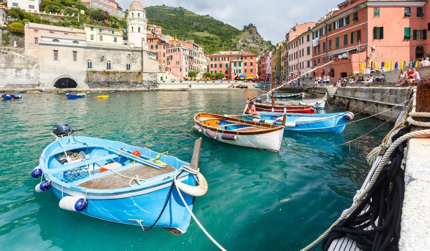 The little port of Vernazza, Cinque Terre