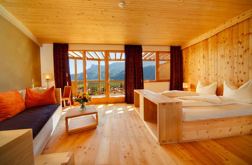Theiner's Garten, Organic Hotel in Gargazon, Sud Tyrol, Italy