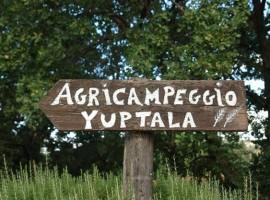 Agricampeggio Yuptala at Terricciola near Pisa