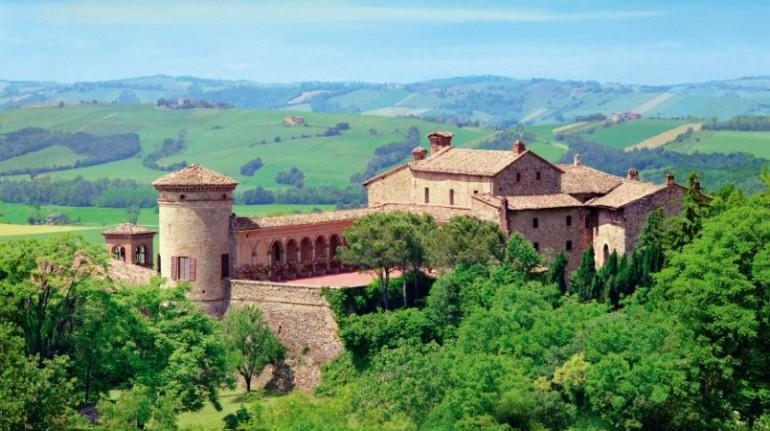 View of the castle of Scipione