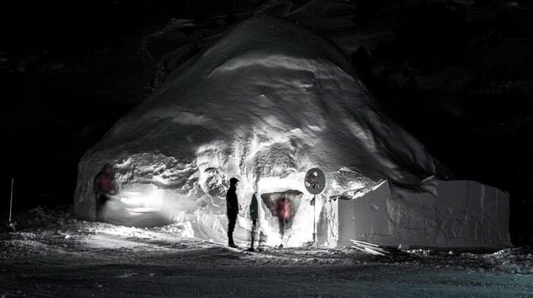 Eskimo Village - Krvavec, Slovenia