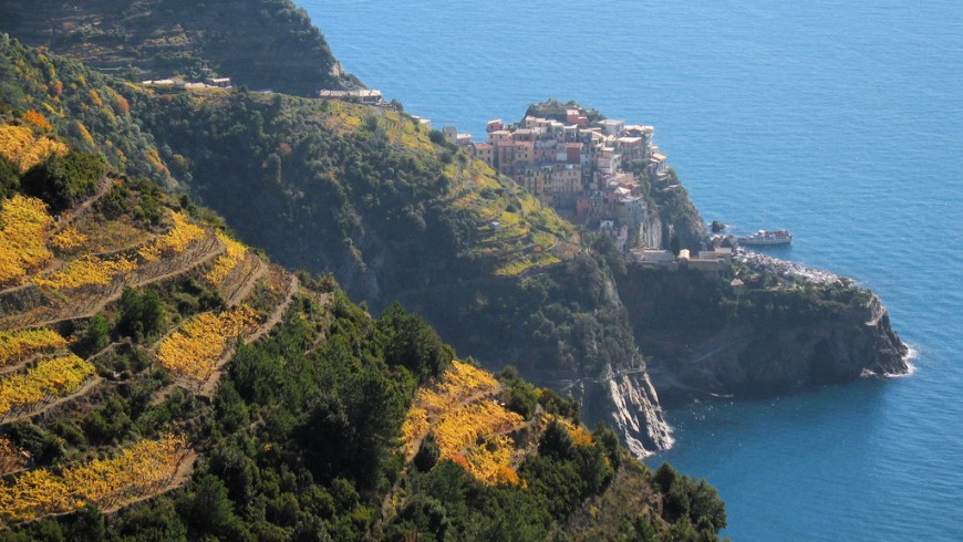 Autumn in Cinque Terre