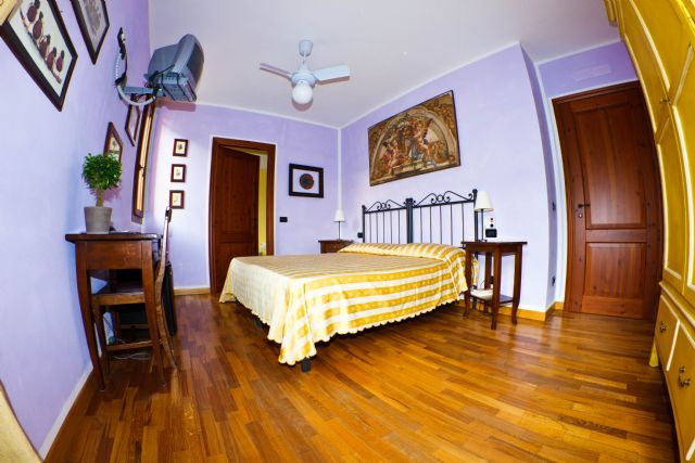 A room at Il Cavicchio, eco-friendly Guesthouse in Pianoro, Bologna, Italy