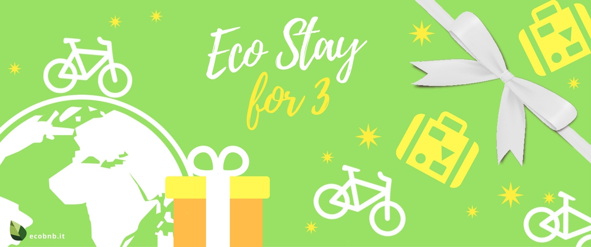Eco overnight-stay for 3 people.