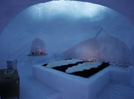 Spend a memorable night in Igloo