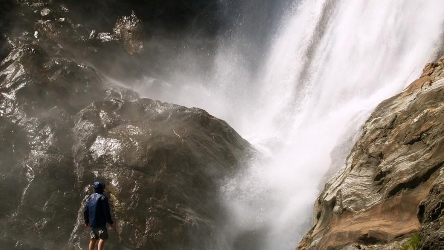 Parcines Waterfall, Bolzano