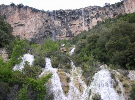 Waterfalls Lequarci (Ogliastra)