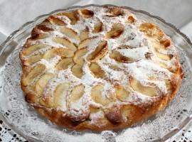 The apple cake that you can taste in B&B Vivere la VIta
