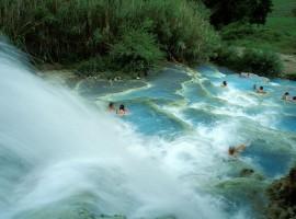 Waterfall of Saturnia