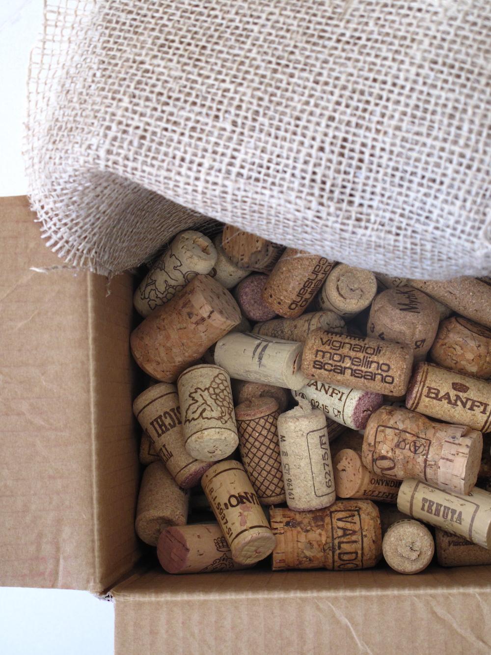 reuse of cork
