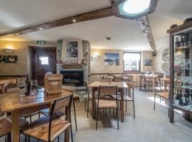 Restaurant of Alpe Rebelle