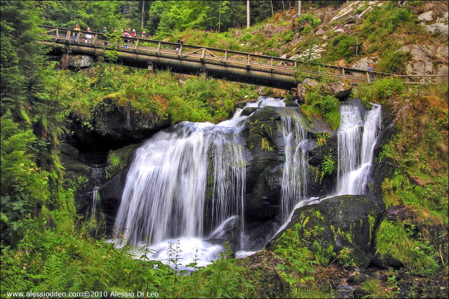 Triere waterfalls
