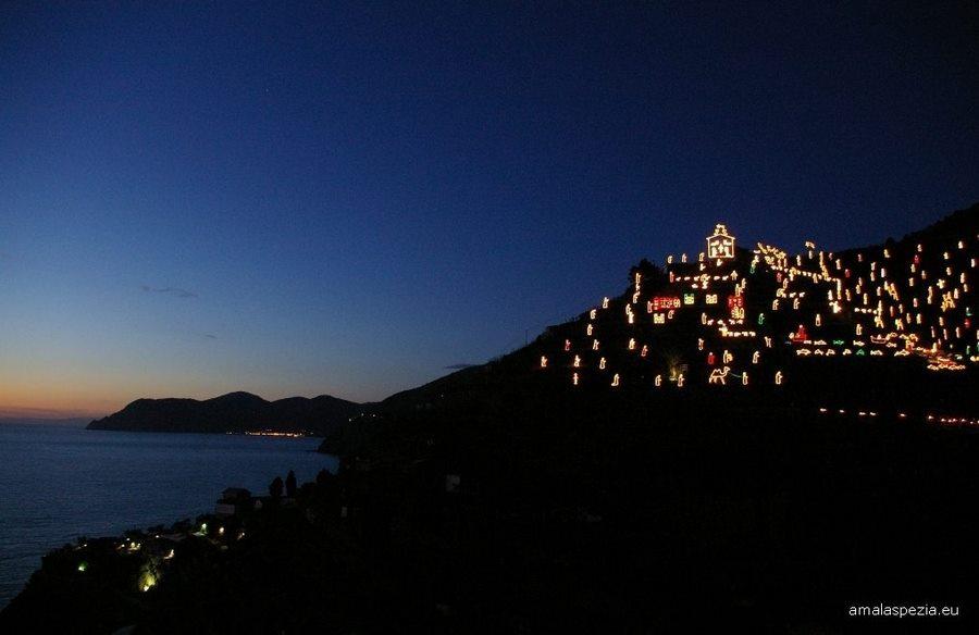 Manarola's nativity scene