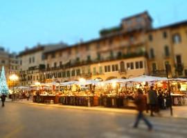 Christmas Market in Verona, Italy