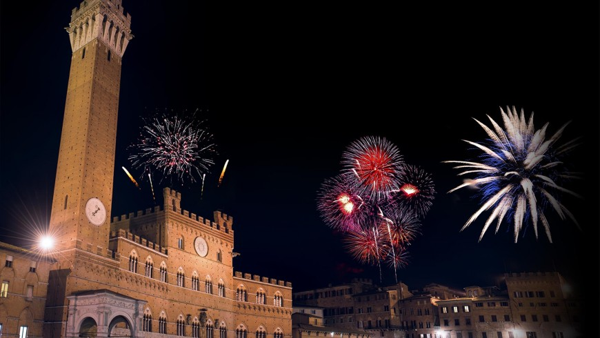 Siena at New Year's Eve