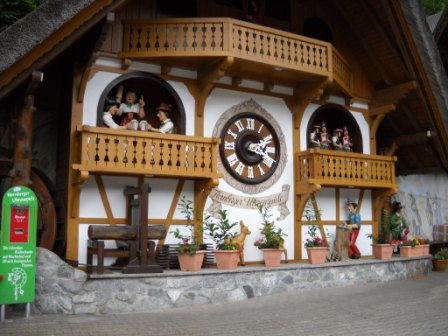 The largest cuckoo clock in the world