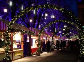 Traditional Christmas Market at Postdamerplats, in Berlin