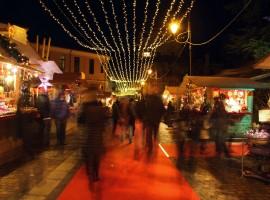 Christmas Market in Rovereto, Italy