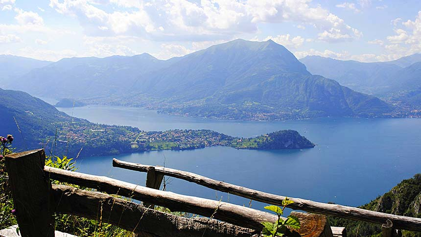 The Path of the Wanderer, Lake Como