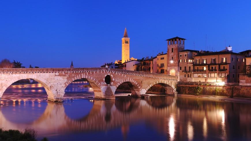Stone Bridge in Verona