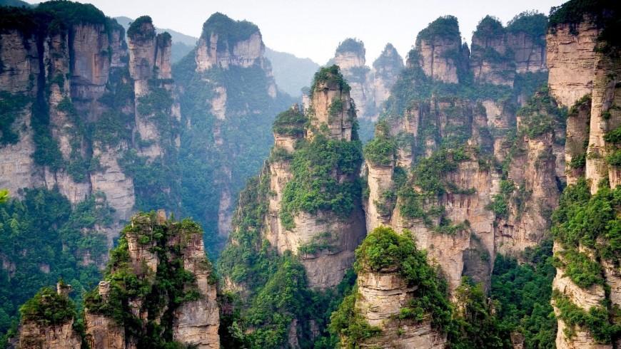 Tianzi, China