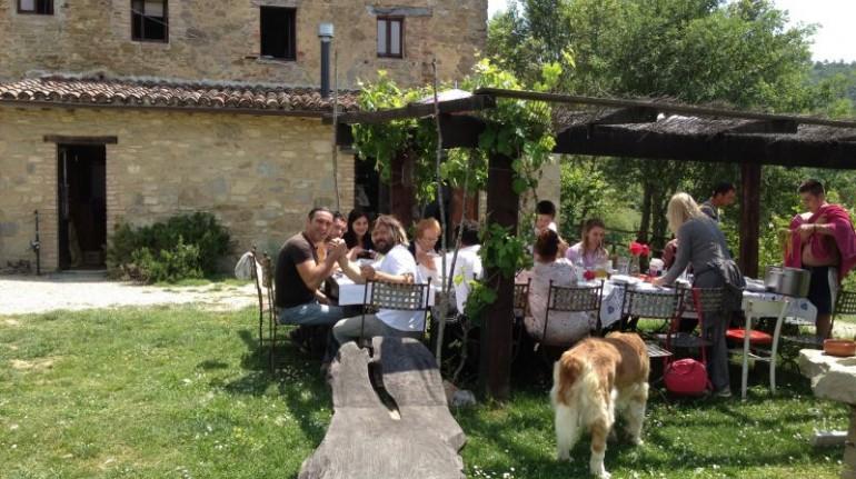 farm holidays in Umbria