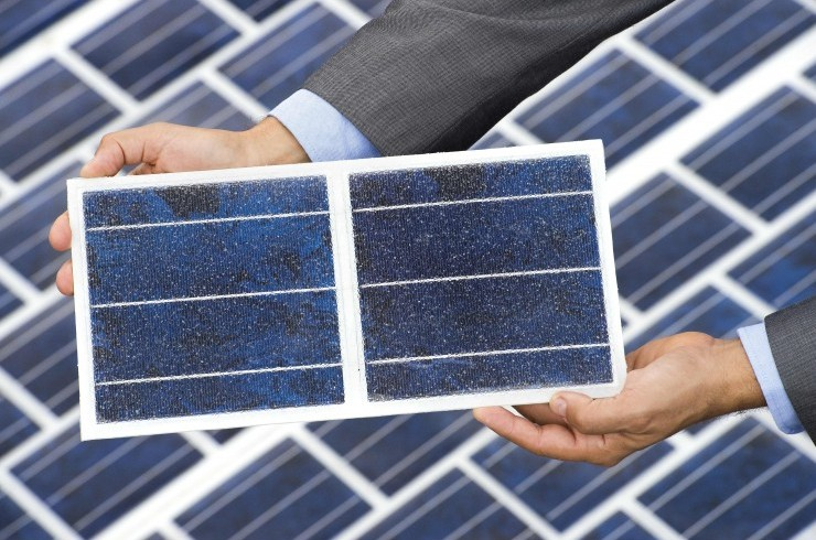the solar panels of the new French solar roads