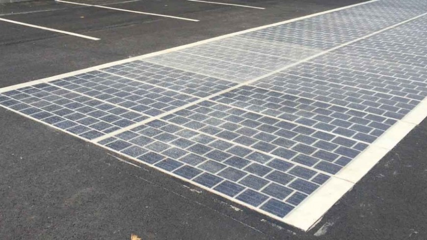 Solar roads arrive in France