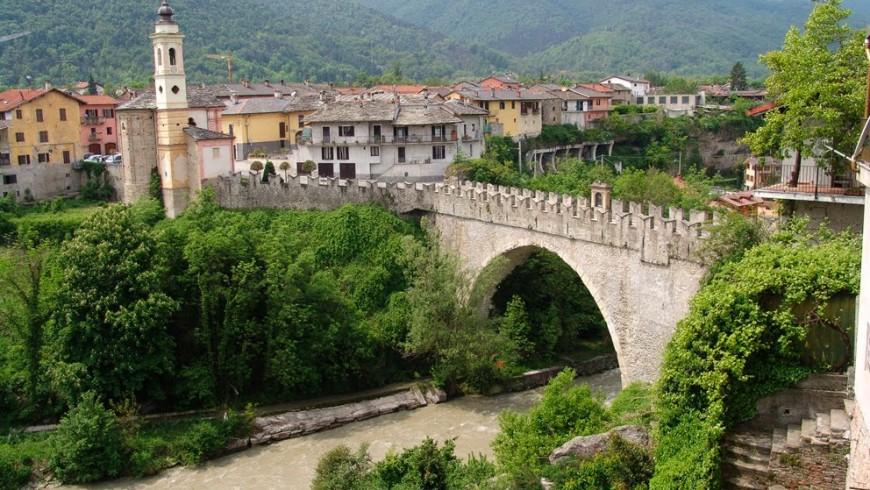 The Ponte Vecchio in Dronero