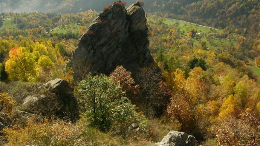 Maira Valley in autumn
