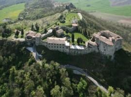 Rocca d'Oligisto, in Val Tidone, Italy