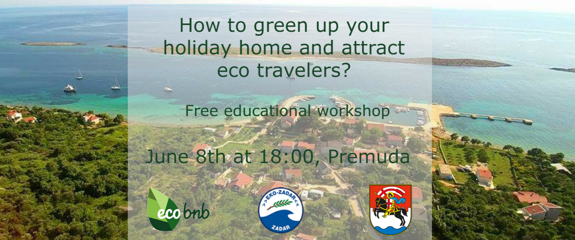 How to green up your holiday home and attract eco travelers? Educational workshop in Premuda, Croatia