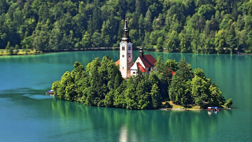 Lake Bled, in out Top 10 most beautiful Lakes of Europe