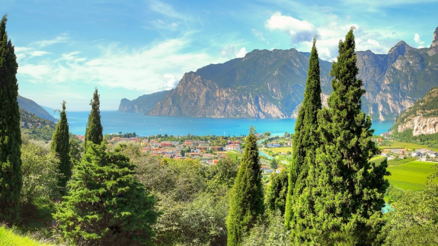 Lake Garda, one of the most beautiful lakes in Europe