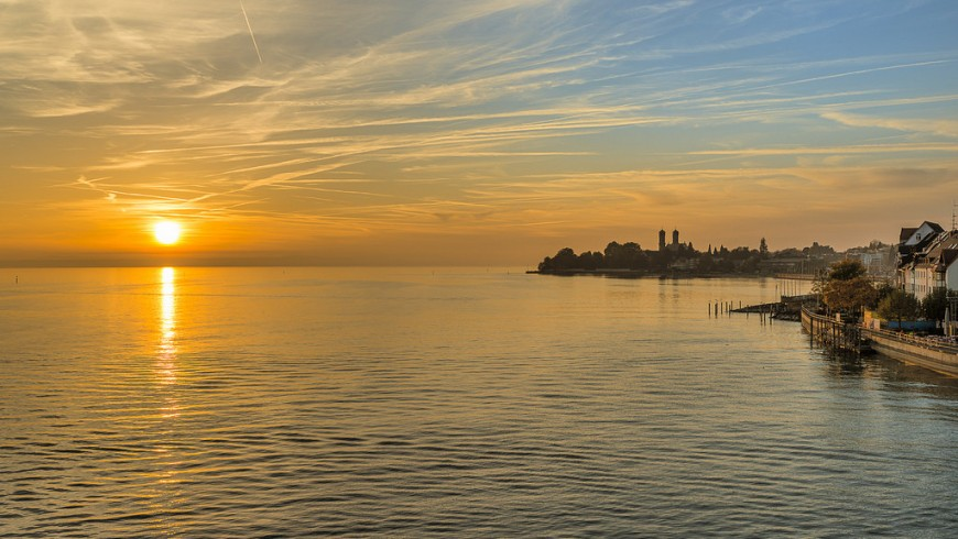 Lake Constance is one of the most beautiful lakes in Europe