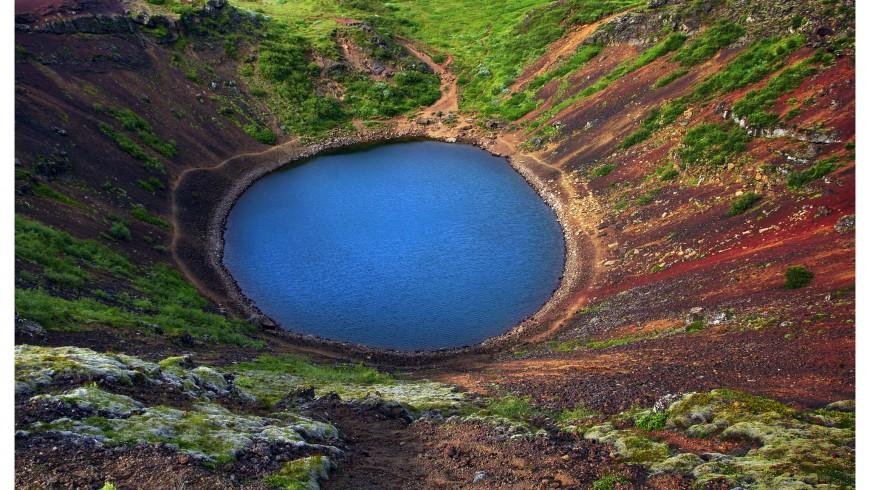 Lake Karid in Iceland
