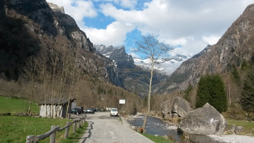 Val di Mello - picture by Anita Cason